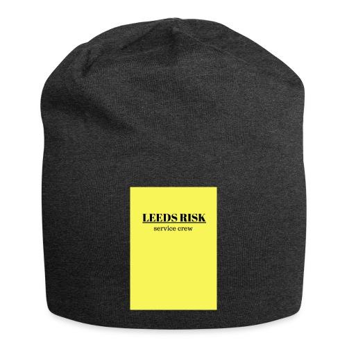 leeds risk - Jersey Beanie