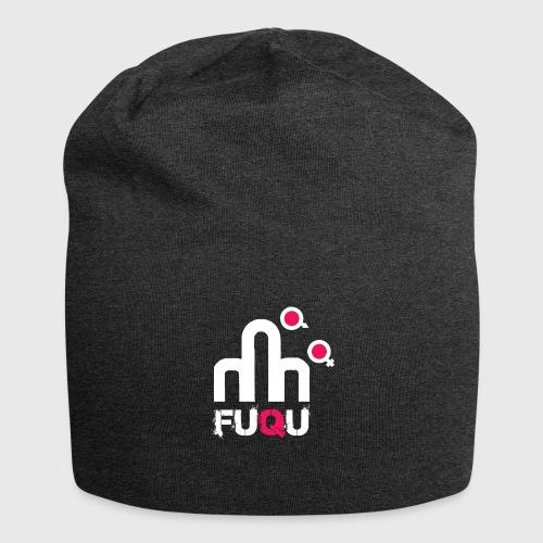 T-shirt FUQU logo colore bianco - Beanie in jersey