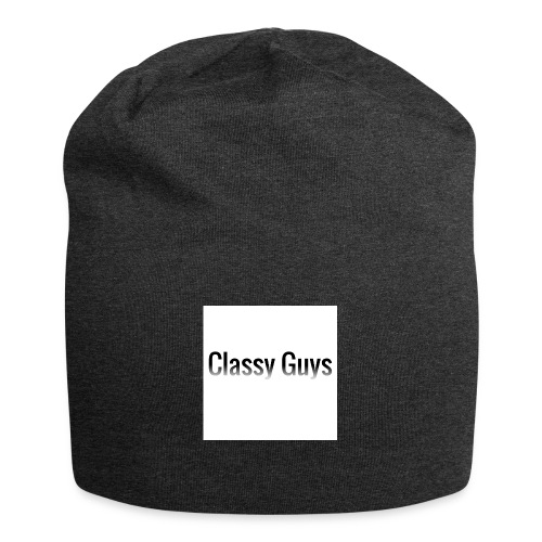 Classy Guys Simple Name - Jersey Beanie