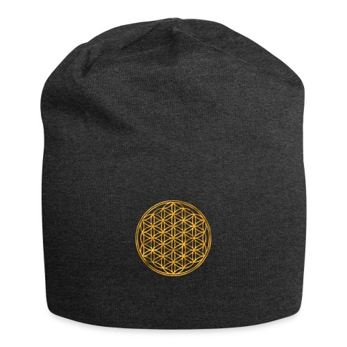 Flower of life GOLD 2 - Jersey-Beanie