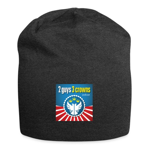 Official 2 Guys 3 Crowns Logo - Jersey Beanie