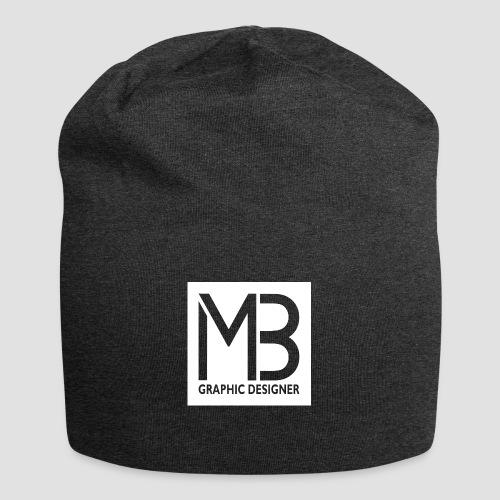 Logo MB Graphic Designer White - Beanie in jersey