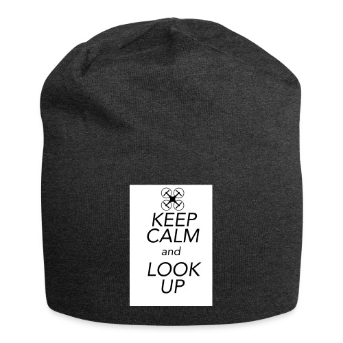 Keep Calm and Look Up - Jersey-Beanie