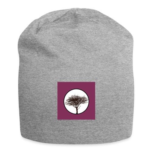 Baum in Kreis - Jersey-Beanie