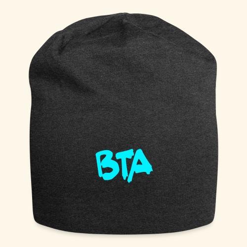 BTA (azul claro) - Gorro holgado de tela de jersey