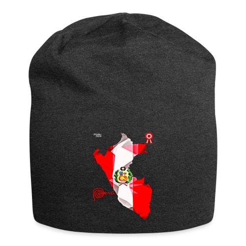 Mapa del Peru, Bandera y Escarapela - Bonnet en jersey