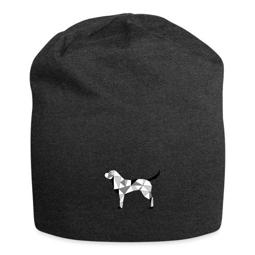 Hund illustriert - Jersey-Beanie