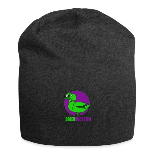 Greenduck Film Purple Sun Logo - Jersey-Beanie