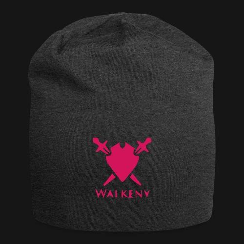 Das Walkeny Logo mit dem Schwert in PINK! - Jersey-Beanie