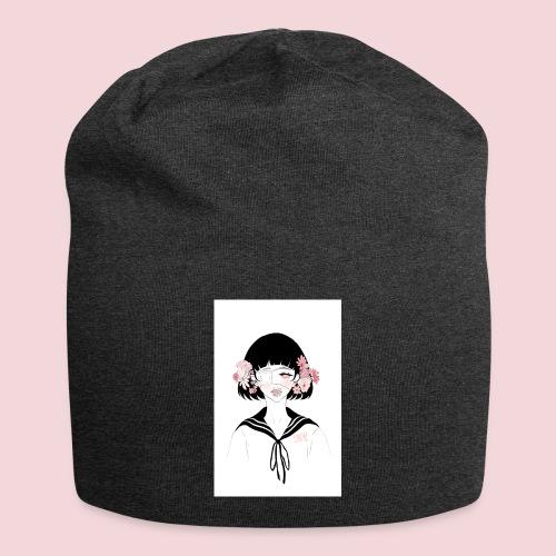 Flowerhead - Jersey Beanie