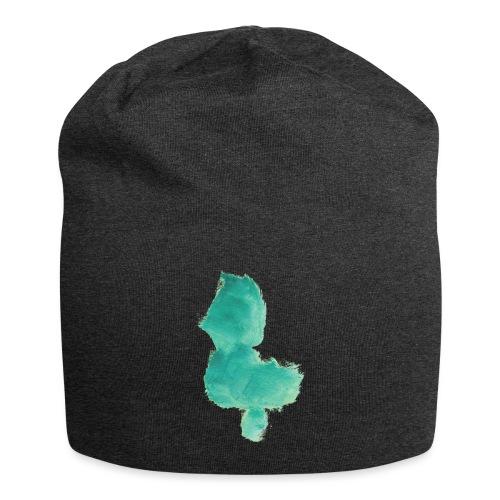 grünes Küken - Jersey-Beanie