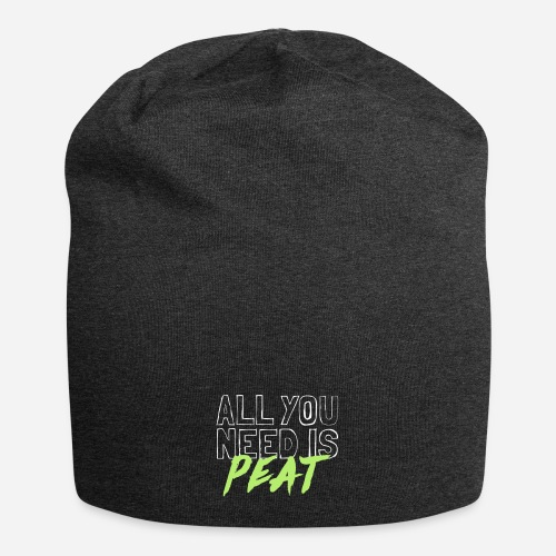 All you need is PEAT - Jersey-Beanie