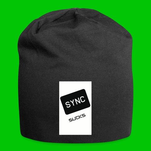 t-shirt-DIETRO_SYNK_SUCKS-jpg - Beanie in jersey