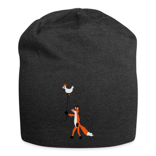 Fuchs und Henne - Jersey-Beanie