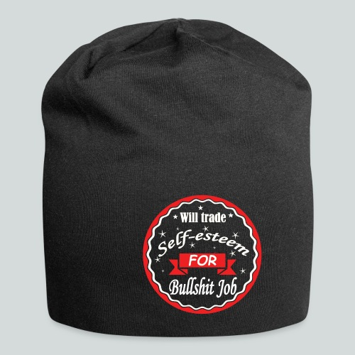 Bullshit Job - Bonnet en jersey
