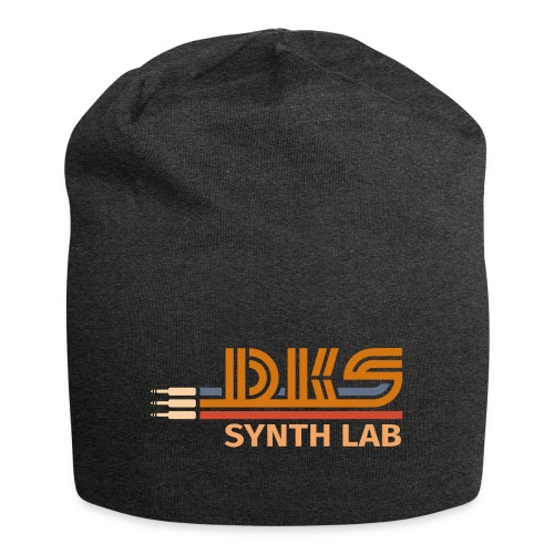 DKS SYNTH LAB Flat Orange-Orange - Beanie in jersey