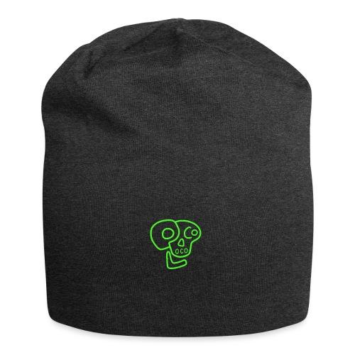 poco loco logo green - Jersey Beanie