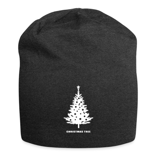 christmas tree, christmas, new year, rockefeller - Jersey Beanie