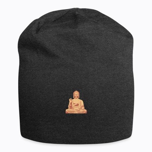 buddha om - Jersey Beanie