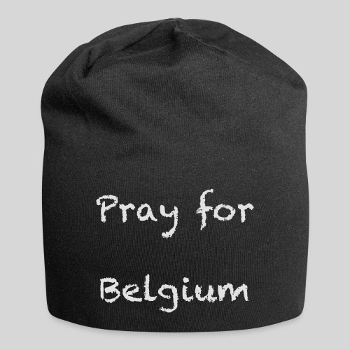 Pray for Belgium - Bonnet en jersey