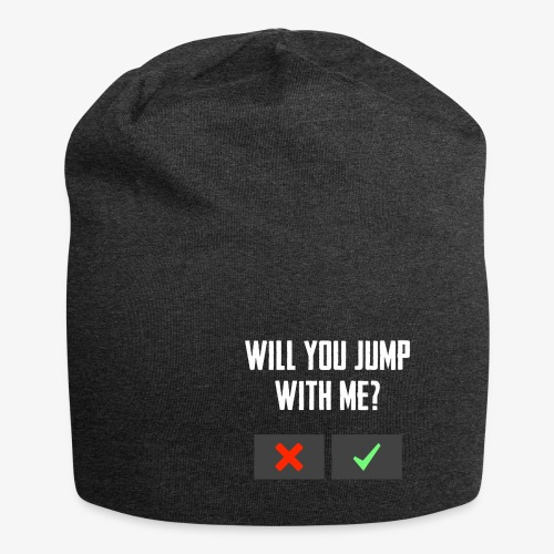 PUBG Will you jump with me? - Jersey-Beanie