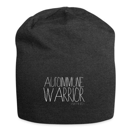 AIWblanc - Bonnet en jersey