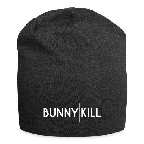bunny kill logo 02 weiss frei png - Jersey-Beanie
