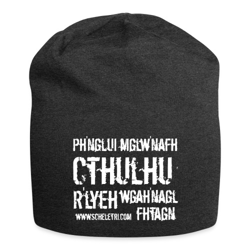 Cthulhu - Beanie in jersey