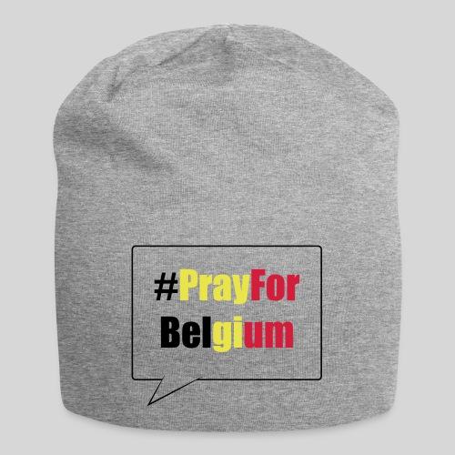 #PrayForBelgium - Bonnet en jersey