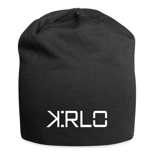 Kirlo Logo Blanco - Gorro holgado de tela de jersey