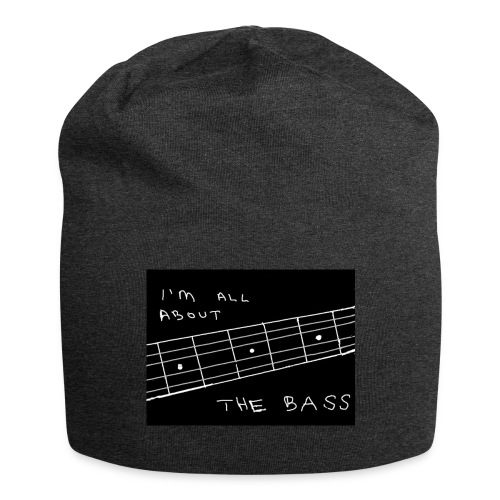 I M ALL ABOUT THE BASS - Jersey Beanie
