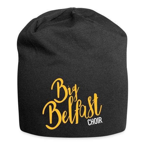 Big Belfast Choir Yellow white - Jersey Beanie