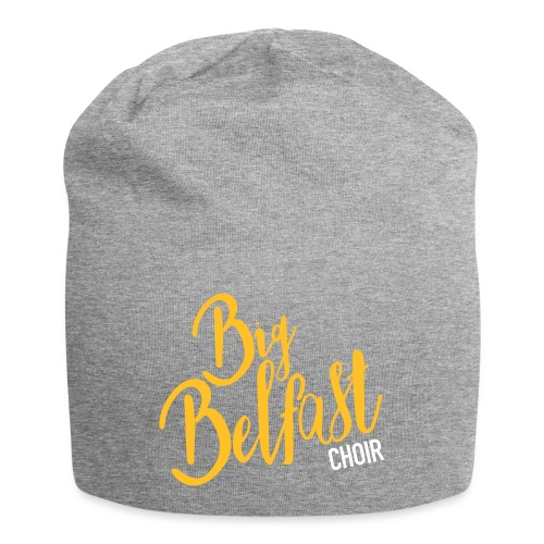 Big Belfast Choir Yellow white - Jersey Beanie