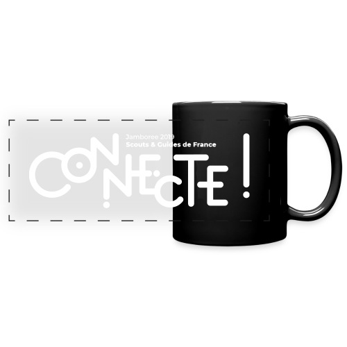 Logo connecte - Mug panoramique uni
