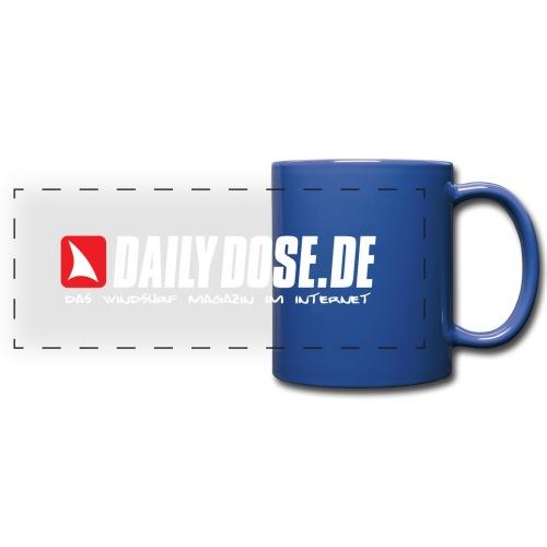 DAILYDOSE.DE (white) - Panoramatasse farbig