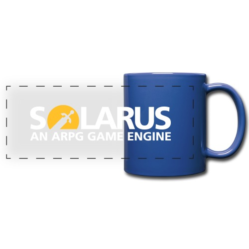 Solarus engine logotype - Mug panoramique uni