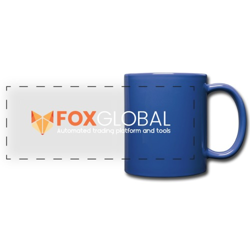 Hor white logo - Full Color Panoramic Mug