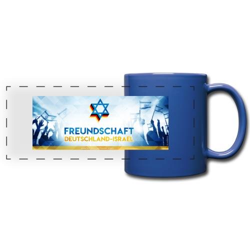 Panoramatasse Freundschaft Deutschland Israel FDI - Panoramatasse farbig