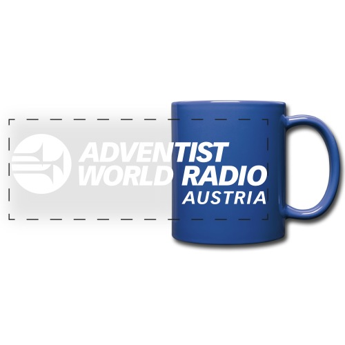 AWR Logo ohne R - Panoramatasse farbig