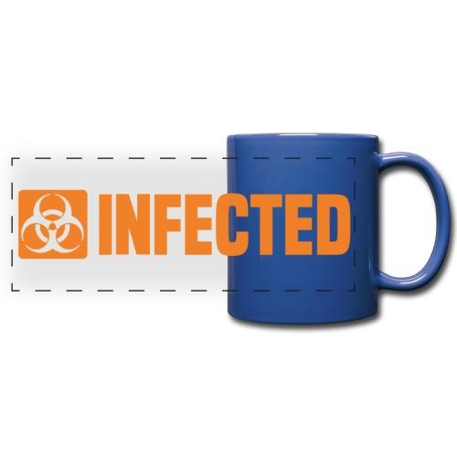 Infected Infiziert Biohazard - Panoramatasse farbig