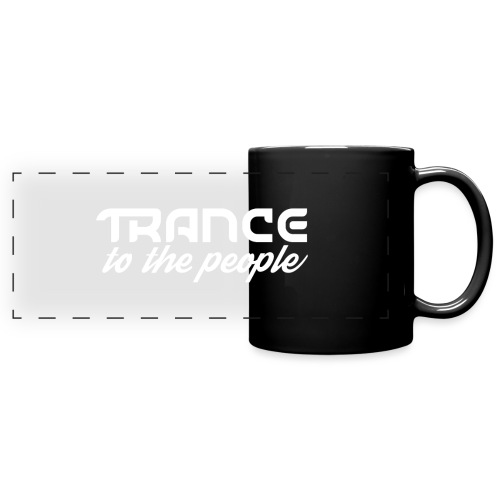 Trance to the People Hvidt Logo - Panoramakrus, farvet