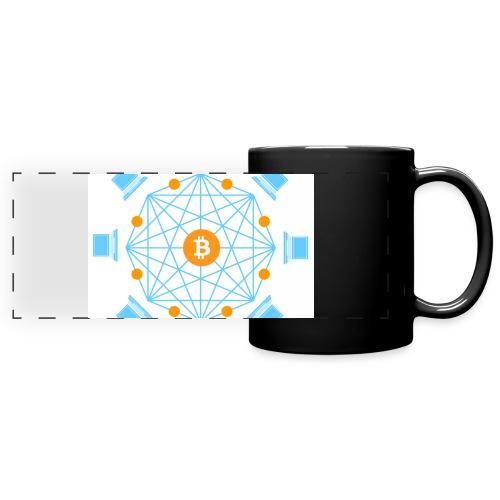 Blockchain - Panoraamamuki värillinen