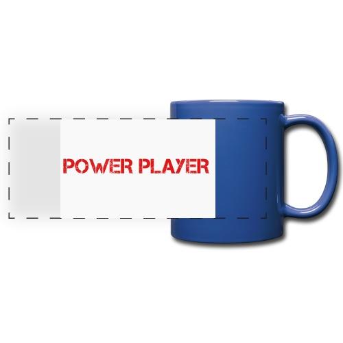 Linea power player - Tazza colorata con vista
