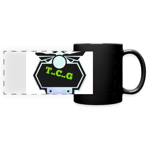 Cool gamer logo - Full Colour Panoramic Mug