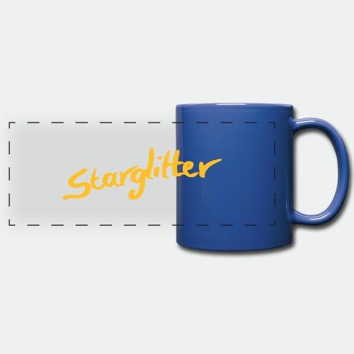 Starglitter - Lettering - Full Color Panoramic Mug