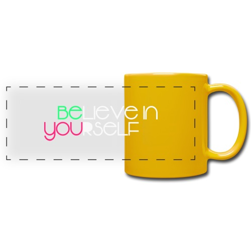 be you - Tazza colorata con vista