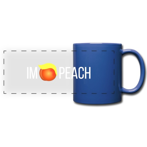 IMPEACH / Light Unisex Hoodie Sweat - Full Color Panoramic Mug