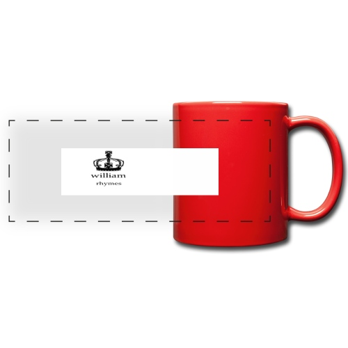 william - Full Colour Panoramic Mug