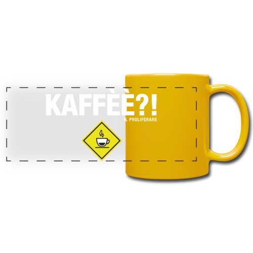 KAFFÈÈ?! by Il Proliferare - Tazza colorata con vista