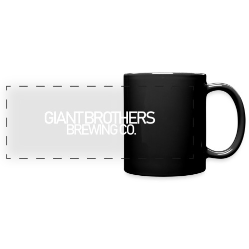 Giant Brothers Brewing co white - Färgad panoramamugg
